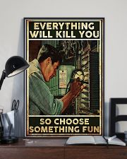 Electrician Choose Something Fun 24x36 Poster lifestyle-poster-2