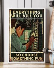 Electrician Choose Something Fun 24x36 Poster lifestyle-poster-4