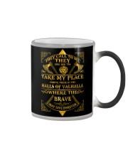 Viking prayer Color Changing Mug color-changing-right