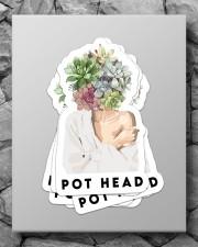 Gardening pot head sticker Sticker - 6 pack (Vertical) aos-sticker-6-pack-vertical-lifestyle-front-09