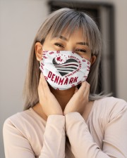 Denmark Msk Denmark Heart Cloth Face Mask - 3 Pack aos-face-mask-lifestyle-17