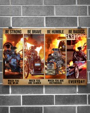 HR Strong Brave Humble PDN-dqh 24x16 Poster aos-poster-landscape-24x16-lifestyle-19
