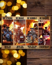 HR Strong Brave Humble PDN-dqh 24x16 Poster aos-poster-landscape-24x16-lifestyle-30