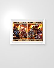 HR Strong Brave Humble PDN-dqh 24x16 Poster poster-landscape-24x16-lifestyle-02