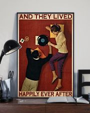 Vinyl They Live Happily PDN-dqh 11x17 Poster lifestyle-poster-2