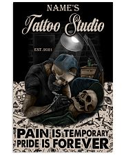 Tattoo skull tattoo studio custom lht-dqh 11x17 Poster front
