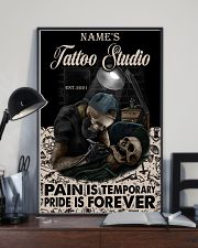 Tattoo skull tattoo studio custom lht-dqh 11x17 Poster lifestyle-poster-2