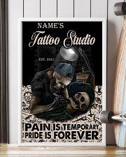 Tattoo skull tattoo studio custom lht-dqh 11x17 Poster lifestyle-poster-4