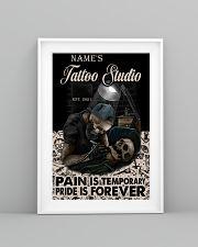 Tattoo skull tattoo studio custom lht-dqh 11x17 Poster lifestyle-poster-5