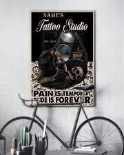 Tattoo skull tattoo studio custom lht-dqh 11x17 Poster lifestyle-poster-7