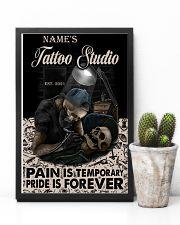 Tattoo skull tattoo studio custom lht-dqh 11x17 Poster lifestyle-poster-8