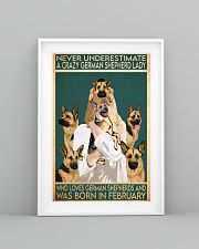 Crazy German Shepherd february 11x17 Poster lifestyle-poster-5
