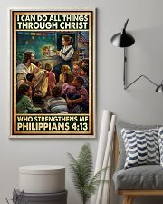 Jesus teacher I can do all thing 11x17 Poster lifestyle-poster-1