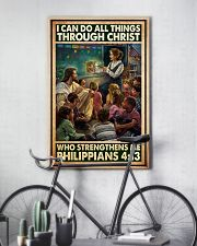 Jesus teacher I can do all thing 11x17 Poster lifestyle-poster-7