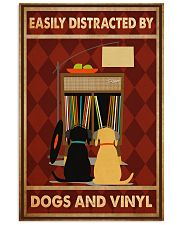 Music Dog Vinyl Easily Distracted PDN-dqh 11x17 Poster front