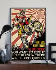 Dirtbike Like A Hooker 24x36 Poster lifestyle-poster-2