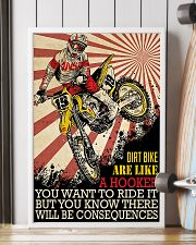 Dirtbike Like A Hooker 24x36 Poster lifestyle-poster-4