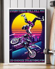 Motocross Retro Choose ST Fun PDN-DQH  24x36 Poster lifestyle-poster-4