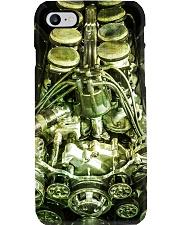 Hot Rod Engine PC Green 3 PDN Phone Case i-phone-8-case