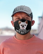 chihuahua to all my haters mas Cloth Face Mask - 3 Pack aos-face-mask-lifestyle-06