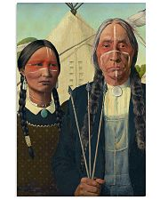 Native Gothic PDN-DQH 11x17 Poster front