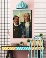 Native Gothic PDN-DQH 11x17 Poster lifestyle-poster-6