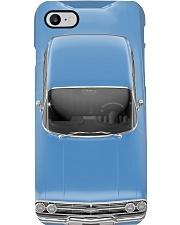 Car Chev 1960 Impala Blue PDN-dqh Phone Case i-phone-8-case