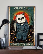 Cat ch-ch-ch 24x36 Poster lifestyle-poster-2