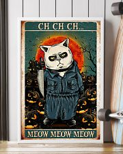 Cat ch-ch-ch 24x36 Poster lifestyle-poster-4