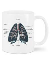Lung anatomy mug dvhh ntv Mug front