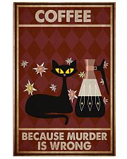 Music Cat Coffee Easily Distracted PDN NTH 11x17 Poster front