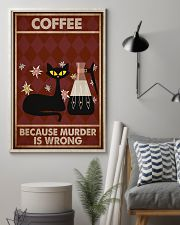 Music Cat Coffee Easily Distracted PDN NTH 11x17 Poster lifestyle-poster-1