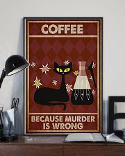 Music Cat Coffee Easily Distracted PDN NTH 11x17 Poster lifestyle-poster-2