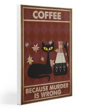 Music Cat Coffee Easily Distracted PDN NTH 20x30 Gallery Wrapped Canvas Prints thumbnail
