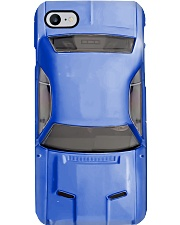 Car 1970 Dod Challenger blue PDN-pml Phone Case i-phone-8-case