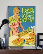 baking don't choke people  11x17 Poster lifestyle-poster-2