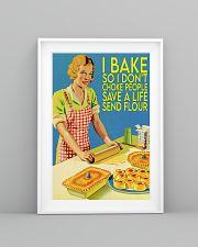 baking don't choke people  11x17 Poster lifestyle-poster-5