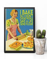 baking don't choke people  11x17 Poster lifestyle-poster-8