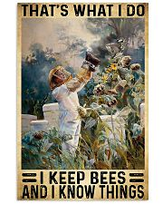 Beekeeper What I Do 11x17 Poster front