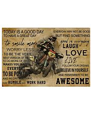 Motocross Today Is A Good Day PDN-NTH 17x11 Poster front