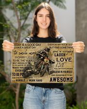 Motocross Today Is A Good Day PDN-NTH 17x11 Poster poster-landscape-17x11-lifestyle-19