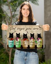 Cat God Say You Are PDN-NTH 17x11 Poster poster-landscape-17x11-lifestyle-19