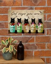 Cat God Say You Are PDN-NTH 17x11 Poster poster-landscape-17x11-lifestyle-23