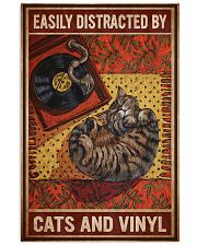 Music Cat Vinyl Easily Distracted 4 PDN-NTH 11x17 Poster front