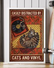 Music Cat Vinyl Easily Distracted 4 PDN-NTH 11x17 Poster lifestyle-poster-4