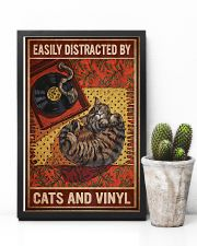 Music Cat Vinyl Easily Distracted 4 PDN-NTH 11x17 Poster lifestyle-poster-8