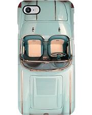 Car Chevr 1958 Corv Blue And Silver PDN-pml Phone Case i-phone-8-case