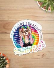 Hippie Im Blunt Beacause Stk Sticker - 6 pack (Vertical) aos-sticker-6-pack-vertical-lifestyle-front-07