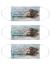 Native American girl msk Cloth Face Mask - 3 Pack front