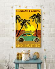 Ocean Surfing The Ocean Is Calling And I Must Go 11x17 Poster lifestyle-holiday-poster-3